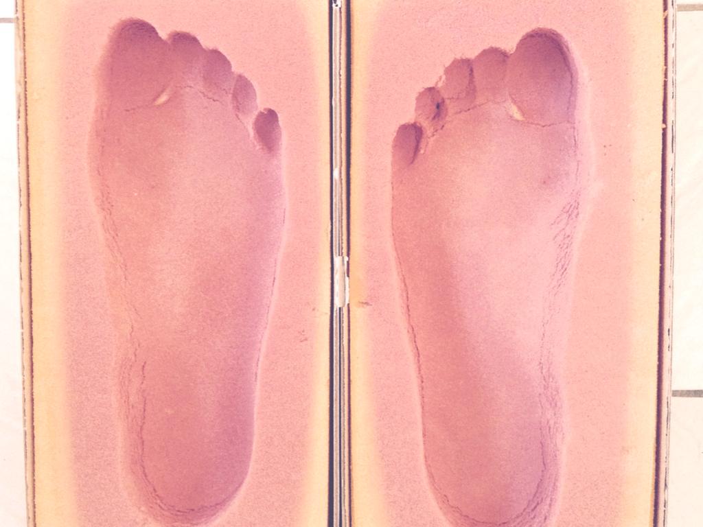 Boite a empreintes podologiques